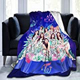 GUYLIGUYQI Kpop Style twice's Blanket Soft Down Blanket Several Sizes to Choose from for All Ages in 50'x40'