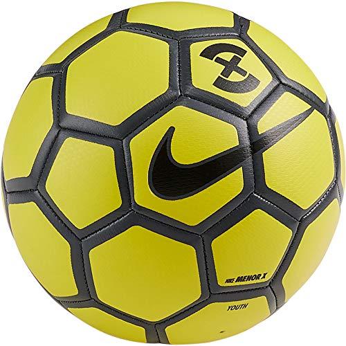 Nike Menor X Pro, Pallone Calcetto a Rimbalzo Controllato (4, Giallo/Nero)