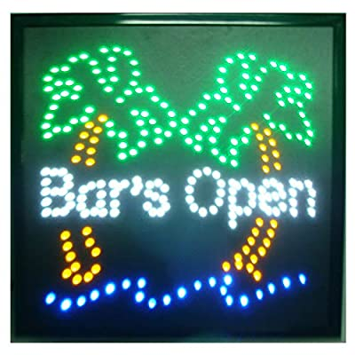 CHENXI BAR Pub Beer LED Neon Light Sign Home Decor Shop Signs of Led Size 48 X48 CM Indoor Use