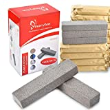 Pumice Stone Toilet Bowl Cleaner - Non Scratch Pumice Stone for Cleaning Hard Water Ring and Stain Remover Bulk Pack of 16