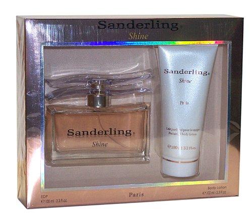Yves de Sistelle Paris SANDERLING SHINE 2 tlg. Geschenkset, Inhalt: Eau de Parfum Spray 100 ml + Perfumed Body Lotion 100 ml