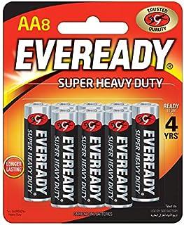 Eveready 1215-8 AA Carbon Zinc Batteries - 8 Pieces