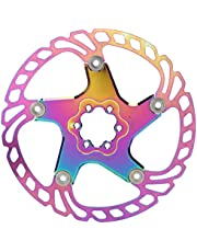 V GEBY Disco de Freno de Disco de Rotor de Bicicleta de montaña Accesorio de Ciclismo Colorido 140/160/180/203 mm