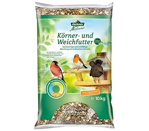 Dehner Natura Wildvogelfutter, Körner- und Weichfutter, 10 kg
