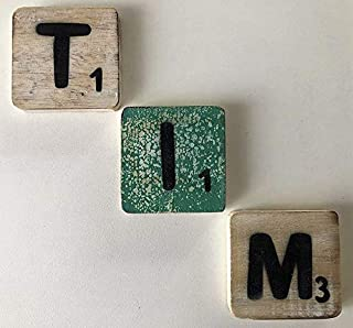 VNEIRW/_Toys Letras de Madera para ni/ños Juguete Educativo para ni/ños Nombres de Puerta A-Z Alfabeto imanes Cartoon Animal vneirw