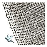 Tela mosquitera aluminio rollo 30 metros (1.2 m)