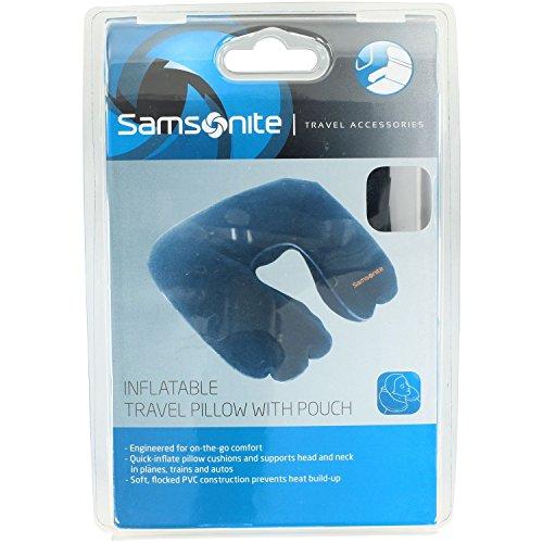 Samsonite 45578/1439 Almohada de Viaje, Color Azul