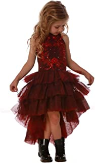 Ooh la la Couture Incredible Stunning Red & Black Special Occasion Dress