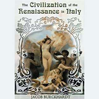 The Civilization of the Renaissance in Italy  cover art