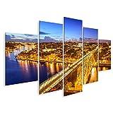 art up your life Bild Bilder auf Leinwand Porto Portugal