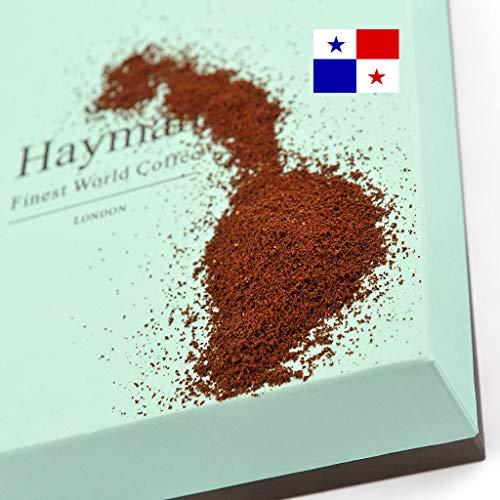100% Geisha Kaffee aus Panama - Gemahlener Kaffee - Einer der besten Kaffees der Welt, frisch geröstet für Sie! (Schachtel mit 100g/3.5oz)