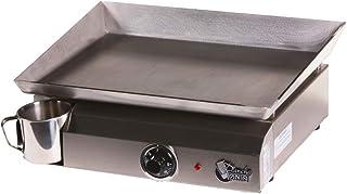 Plancha Tonio - Plancha Electica 2-6 personnes - Electrique 220-230 V - Plaque de cuisson inox 4mm – Caisson Acier Époxy –...