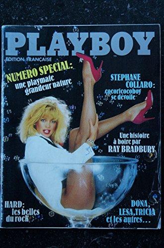 PLAYBOY 134 JANVIER 1985 INTERVIEW STEPHANE COLLARO N° Sp. POSTER PLAYMATE GRANDEUR NATURE PLAYMATES 84