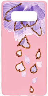 Margoun Pinky Case for Samsung Galaxy Note 8 (6.3 inch) TPU Protective Back Cover/With Rain Design -MG10