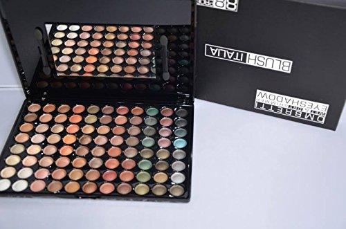 Palette d'ombres à paupières Wet and Dry Neutre 88 Couleurs Blush Italie