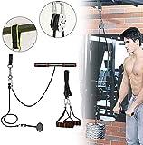 CELLTEK Entrenador de muñeca para antebrazo, antebrazo, entrenamiento de brazo, entrenamiento, levantamiento de pesas en casa, gimnasio, polea de cable