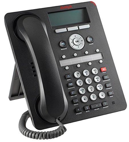 Avaya 700508260 1608-I BLK Telefon schwarz