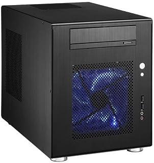 Lian Li PC-Q08B carcasa de ordenador - Caja de ordenador (Aluminio, 1x 140 mm, 1x 120 mm, 227 mm, 345 mm, 272 mm)