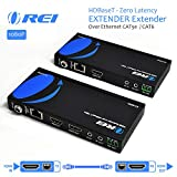 OREI HDBaseT HDMI Extender over Cat5e/6 Ethernet LAN cable - Up to 500 Feet -...