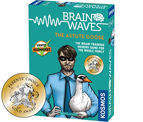 Brainwaves: The Astute Goose - A Kosmos Game from Thames & Kosmos | Fun, Scientist Approved, Family-Friendly Games to Sharpen You Mind & Train Your Brain, for Ages 8+