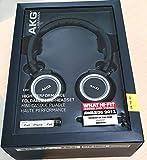 AKG K451 - Casque Audio Mini Pliable - Commande du Volume et Micro Intégrés pour Appareils iOS/Apple –  Noir