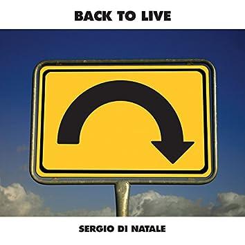 Back to Live (feat. Giulio Martino, Gianfranco Campagnoli, Davide Costagliola, Elisabetta Serio, Tony Miele)