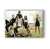 ZOEOPR Poster Gossip Girl Classic Film Poster Und Drucke