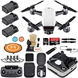 DJI Spark Drone Quadcopter (Alpine White) Elite Bundle with ...