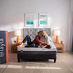 COPPER INFUSED MEMORY FOAM: This copper infused cooling system mattress provide cooler sleep and variable support great for all sleeping positions FLIPPABLE FIRMNESS: Flip for comfort. Layla is a medium soft on one side and firm on the other so you g...