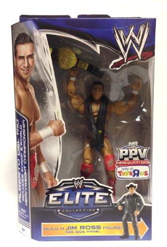 WWE, Elite Collection, Exclusive Action Figure Alberto Del Rio (Build A Jim Ross Figure)