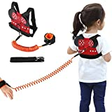 Accmor Toddler Safety Harness Leash Baby Walking Tether Strap + Child Anti Lost Wrist Link for 1-5 Years Kids to Zoo or Mall