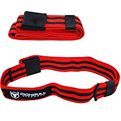 cheap Iron Bull Strength Blood Restraint Belt (Pair) – Occlusion Training Belt – BFR Training…
