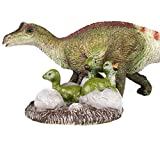 Lana Toys Maiasaura and Hatch Baby Hadrosaur Dinosaur Figure Realistic Jurassic Animal Dino Soft PVC Model Educational Collector Decor Gift for Adult