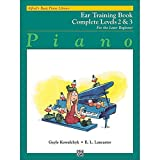 Basic Piano Course: Ear Training Book Complete 2 and 3