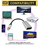 MediaGear/Hyperports USB C 3.1 to 4K @30HZ UHD HDMI Adapter Compatible w/ most C HDMI Enabled Android Smartphones - MacBook Pro, Samsung Galaxy Note 9/S9/S9+/S10 Plus, Razer, HTC +++