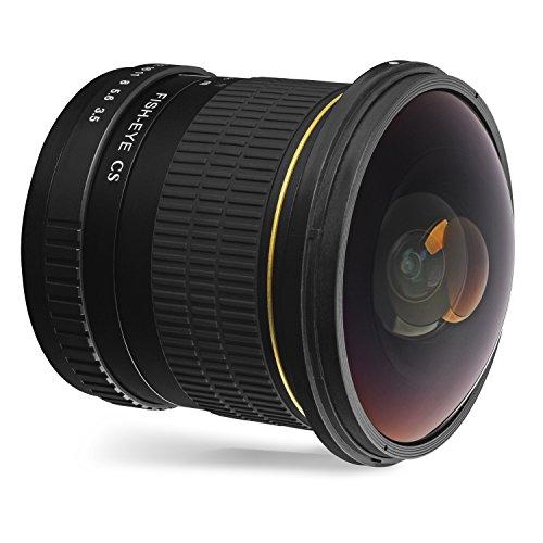 Oshiro 8mm f/3.5 LD UNC AL Wide Angle Fisheye Lens for Canon EOS 80D, 77D, 70D, 60D, 60Da, 50D, 7D, 6D, 5D, 5DS, 1DS, T7i, T7s, T7, T6s, T6i, T6, T5i, T5, T4i, T3i, T3, SL2 and SL1 Digital SLR Cameras
