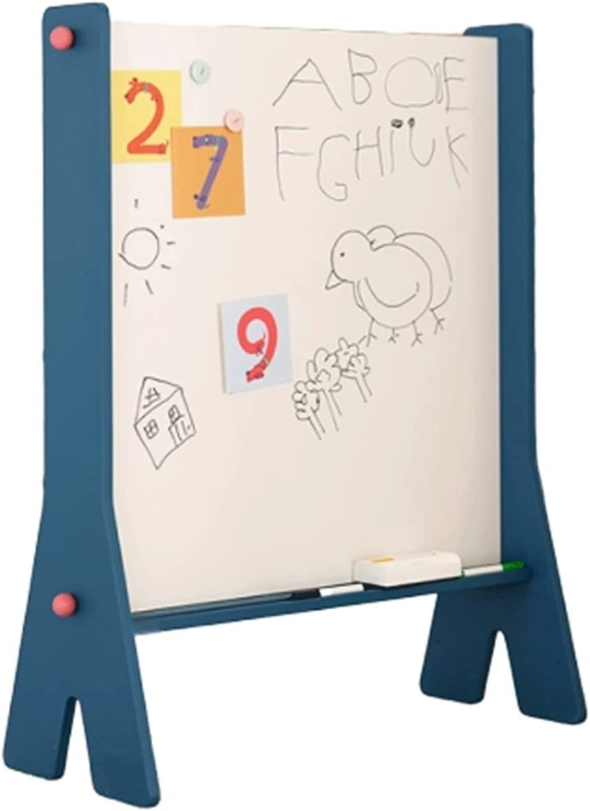 LICHUAN Lowest price challenge Wooden Denver Mall Kids Easel Braced Whiteboard Househo Double-Sided