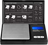 Pocket Scale - 200g x 0.01g by ROYALTEC - Black (Batteries Included)