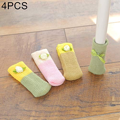 N / A Felt Pads Knitted Chair leg caps,Prevent Scratches Floor Protectors for chair/filing cabinet/table/desks/and a variety of other furniture(16pcs)