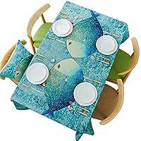 布のテーブルクロス - 北欧テーブルクロス防水オイルほこり長方形のテーブルリネンのテーブルクロスの子どもたちの小さな丸いテーブルコーヒーテーブルクロス (Size : 140x180cm)