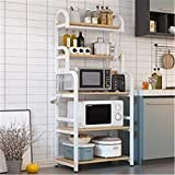 Estante de Cocina Estante para Tipo de cocina Tipo de piso Multi-capa Microondas...
