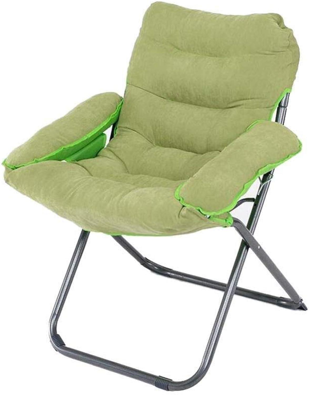FENGFAN Chair Folding Backrest Relax Armchair Steel Frame Suitable Garden Terrace Use (color   T15)