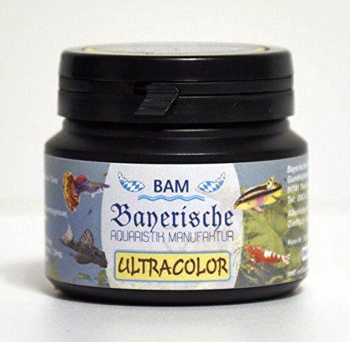 BAM Ultracolor - Softgranulat grob, 100g - DAS Farbfutter für Zierfische und Garnelen