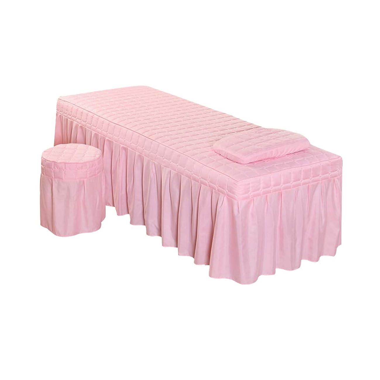 枠どういたしまして後ろ、背後、背面(部PETSOLA 全11色 ベッドタオル エステタオル 穴付き ベッドシーツ 枕カバー スツールカバー マッサージ - ピンク