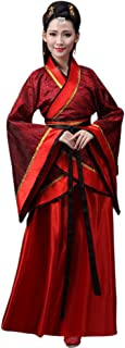 Women's Ancient Chinese Bride Costume Tang Suit National Traditional Hanfu Cosplay Performances Clothes