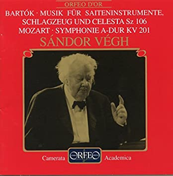 Bartok Mozart Orchestral Works