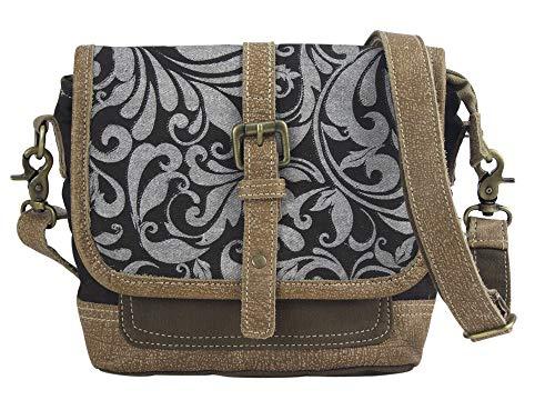 Sunsa Messengertas schoudertas dames handtas canvas tas kleine tiener tassen voor vrouwen Messenger tas crossbody tas schoudertas praktische geschenken damestassen sale