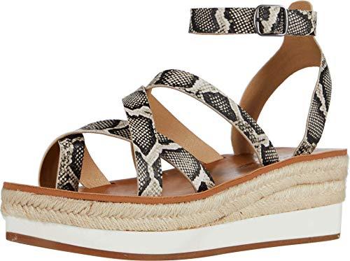 Lucky Brand Jakina Women's Sandal 8.5 B(M) US Natural-Snake