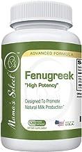 Organic Fenugreek Capsules for Increased Breast Milk Supply During Breastfeeding & Lactation - Potent Fenugreek Seed Suppl...