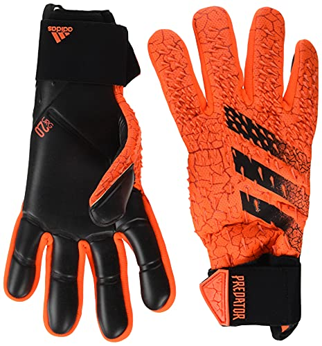 adidas Predator Competition Goalkeeper Gloves (W/O Fingersave) (unisex-adult) Solar Red/Red/Black 8